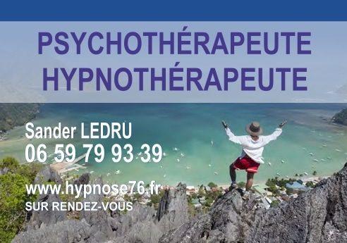 Sander Ledru hypnothérapeute le havre montivilliers
